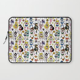 Kawaii Sailor Senshi Doodle Laptop Sleeve
