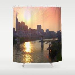 Nashville Dusk Shower Curtain