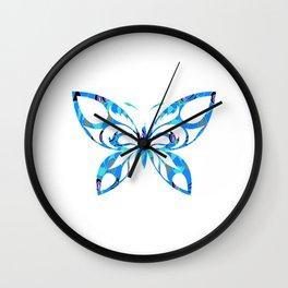 Butterfly 298 Wall Clock