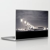 airplane Laptop & iPad Skins featuring Airplane by Marose Photo