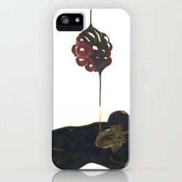 Dripping Chocolate iPhone Case