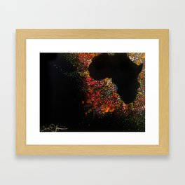 Motherland Magic Framed Art Print