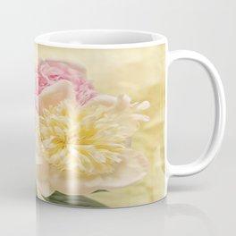 Divine Pink & White Peonies Coffee Mug