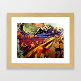 911 Framed Art Print