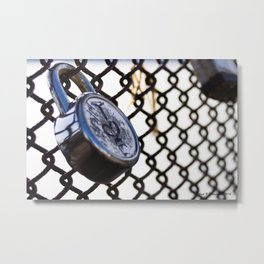 The Locks Metal Print