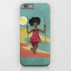 Barefoot Girl on Swing Slim Case iPhone 6s