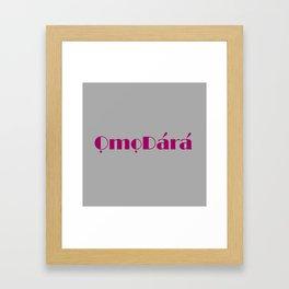 ODF Framed Art Print