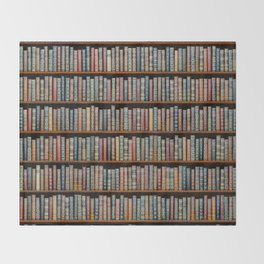 The Library Throw Blanket