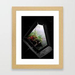Beauty Awaits Framed Art Print