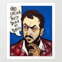 kubrick Art Prints featuring Kubrick by Hugo Maldonado