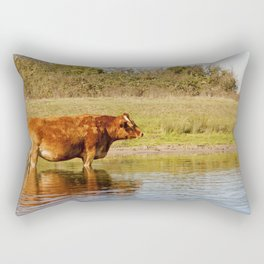 Red Bull Rectangular Pillow