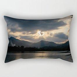 Shining Eye on the Sky Rectangular Pillow