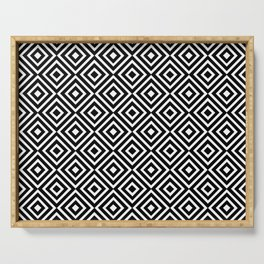 optical pattern 63 Serving Tray