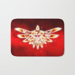 Zelda Red Nebula Bath Mat