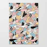pizza Canvas Prints featuring PIZZA !! by Ana Depuntillas