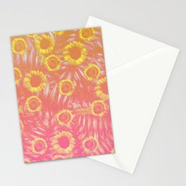 Sunflower Party #4 Stationery Cards