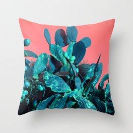Cactus Fruit Throw Pillow