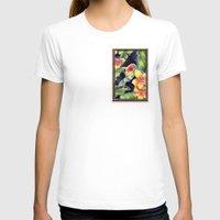 tiki T-shirts featuring Tiki Talk by Vikki Salmela