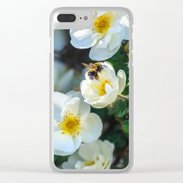Working bee Clear iPhone Case