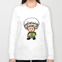 law Long Sleeve T-shirts featuring Toads Law by Dama Chan