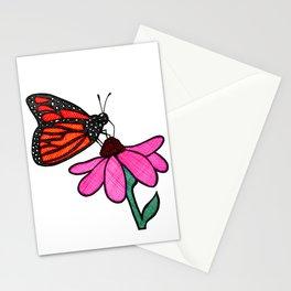 Cross-Hatch Monarch Stationery Cards