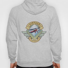 vintage flying logo. Hoody