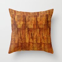 buildings Throw Pillows featuring Buildings by GLR67