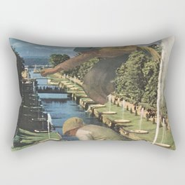 The Gleaners Rectangular Pillow