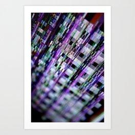 Broken phosphor #1 Art Print