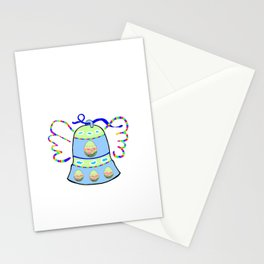 Winged Bell and  Egg Stationery Cards