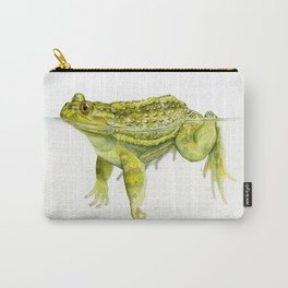 Helmeted Water Toad (Calyptocephallela gayi) Carry-All Pouch