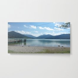 Lake Schliersee Metal Print