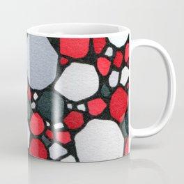 Red and Gray Coffee Mug