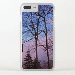 Cabin fever Clear iPhone Case