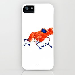 Poison Dart Frog iPhone Case