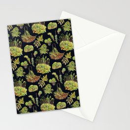 Mosses - Dark Stationery Cards
