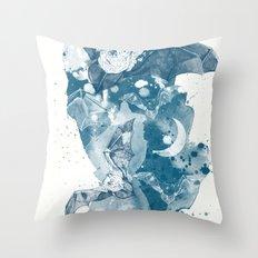 Night Flight Throw Pillow