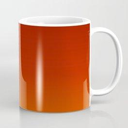 Red Autumn Gradient Coffee Mug