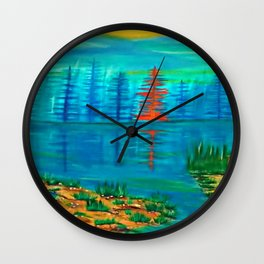 Orange Julius Wall Clock