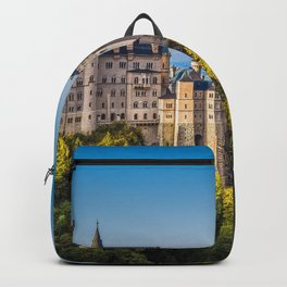 Awe Inspiringly Romantic Fairytale Neuschwanstein Castle Bavaria Germany Europe Ultra HD Backpack