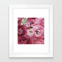 Bloom Sweetly - Rose Pink Framed Art Print