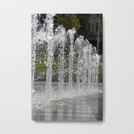 Water10 Metal Print