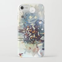 big bang iPhone & iPod Cases featuring Big Bang by Travis Clarke