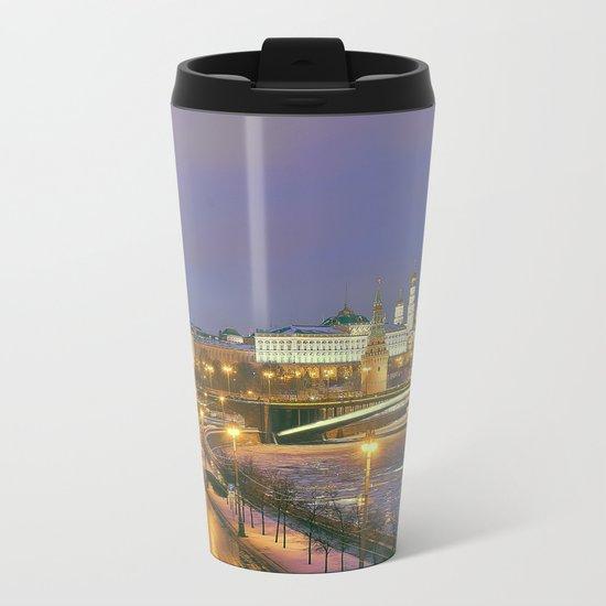 Kremlin Moscow Metal Travel Mug