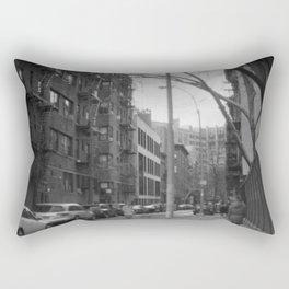 West 21st Street, New York, March 2018 Rectangular Pillow