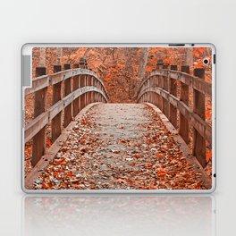 Ruby Red Bridge Laptop & iPad Skin