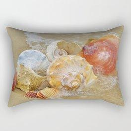 Sea Shells by the Seashore Rectangular Pillow