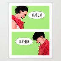akira Art Prints featuring Akira by Sara Kipin