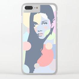 Estrella Clear iPhone Case