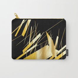 golden treasure abstract geometrical art Carry-All Pouch